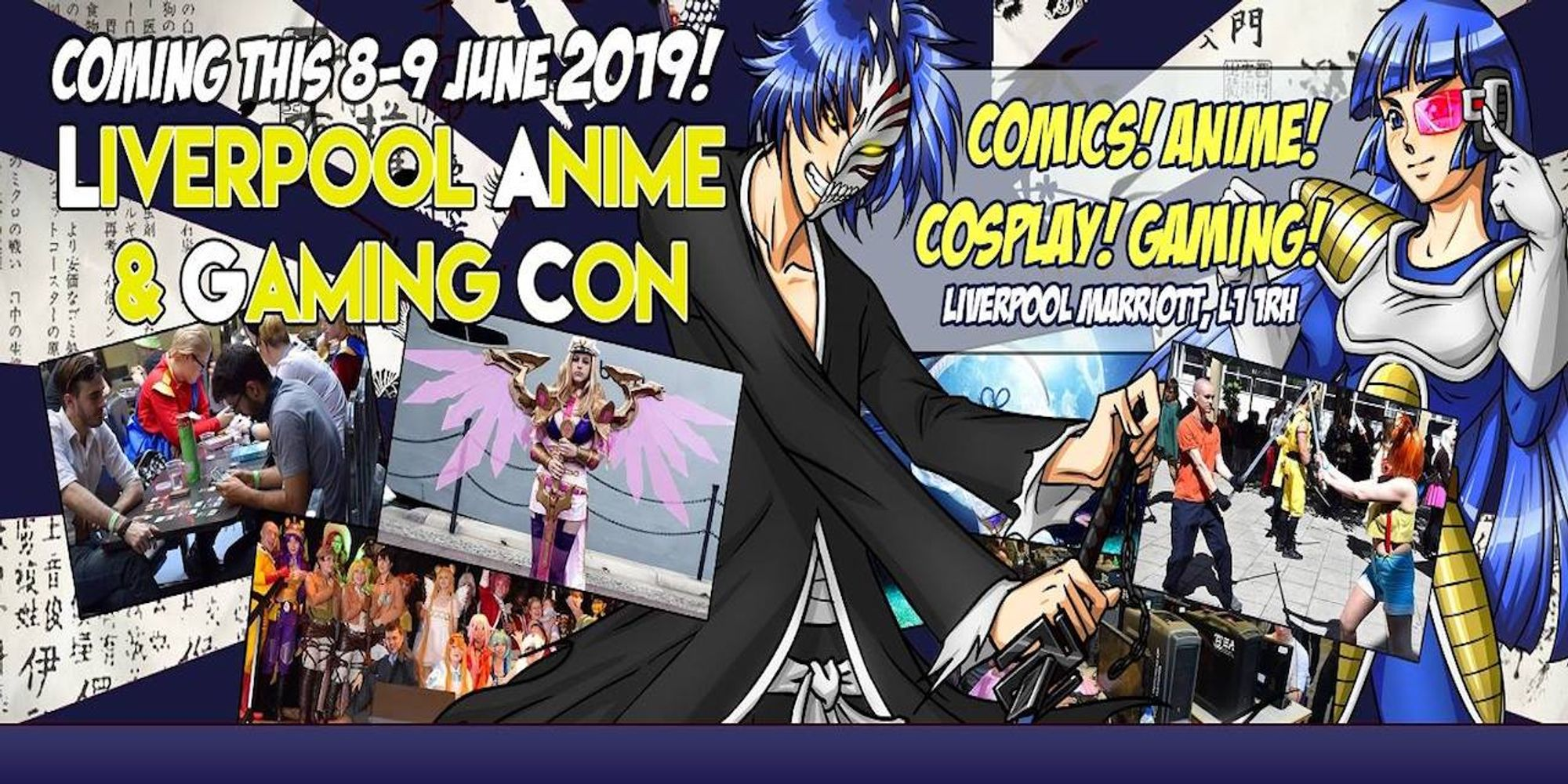 Liverpool Anime & Gaming Con | Fan Guru